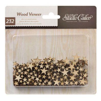 Studio Calico Wood Veneer Tiny Stars