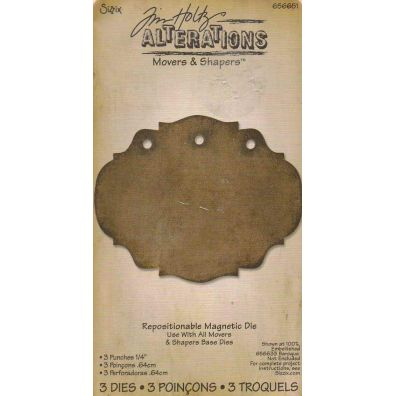 Tim Holtz Movers & Shapers 3 punches