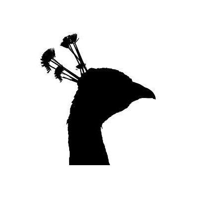 Peacock Head stempel
