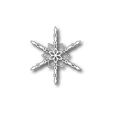 Memory Box Dies Crystal Snowflake