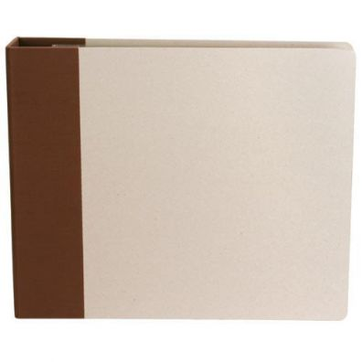 Modern Scrapbooking Album 12''x12'' Brun D-ring