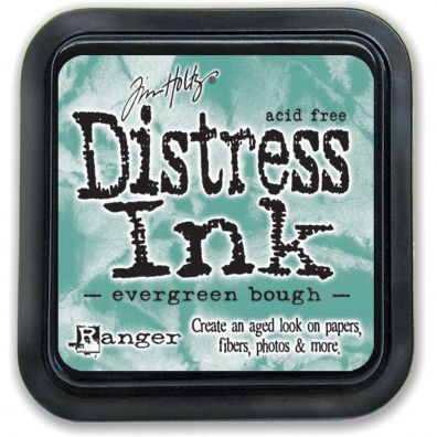 Distress Ink Pad - Evergreen Bourgh