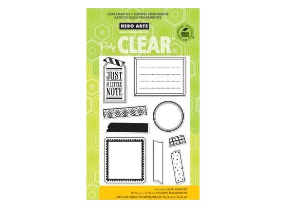 Hero Arts Clear stamp Tape your message