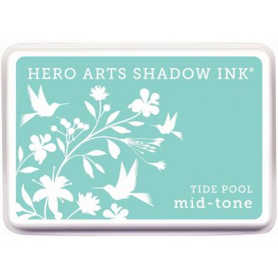 Hero Arts Shadow Ink Mid-tone Tide Pool