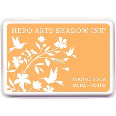Hero Arts Shadow Ink Mid-tone Orange Soda