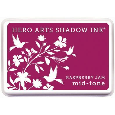 Hero Arts Shadow Ink Mid-tone Raspberry Jam