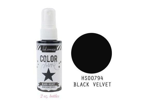 Heidi Swapp Color Shine Black Velvet