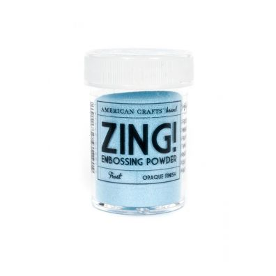 Zing Embossing pulver Frost