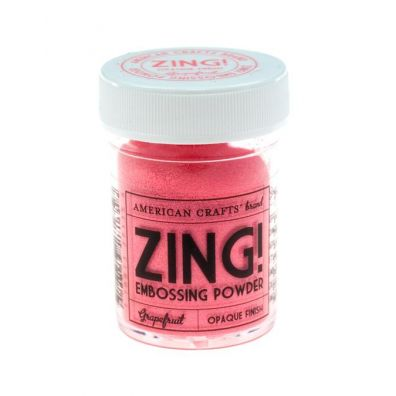 Zing Embossing pulver Grapefruit