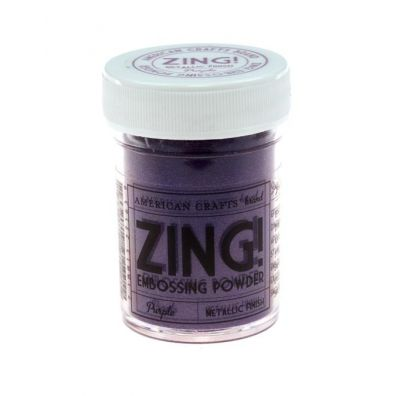 Zing Embossing pulver Metallic Purple