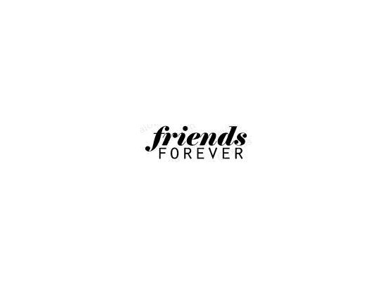 Impression Obsession Cling Stempel - Friends Forever