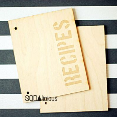 Sodalicious Album 18 x 14 cm - Recipes