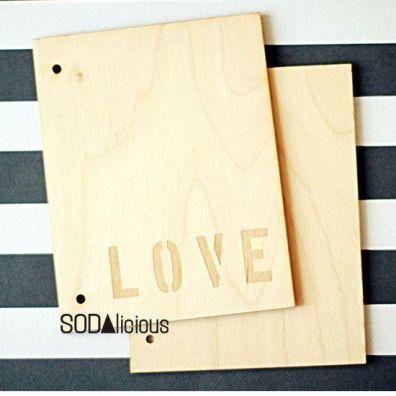 Sodalicious Album 18 x 14 cm - Love