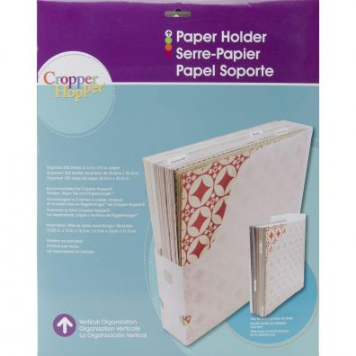 Cropper Hopper Vertical Paper Holder (Ny)