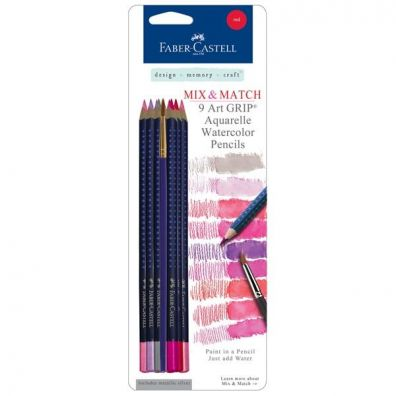 Faber Castell Aquarelles Mix and Match Red