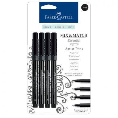 Faber Castell Artist Pens Black