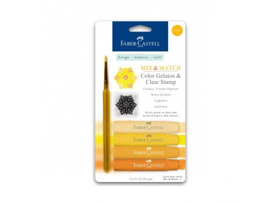 Faber Castell Mix & Match Gelatos Yellow