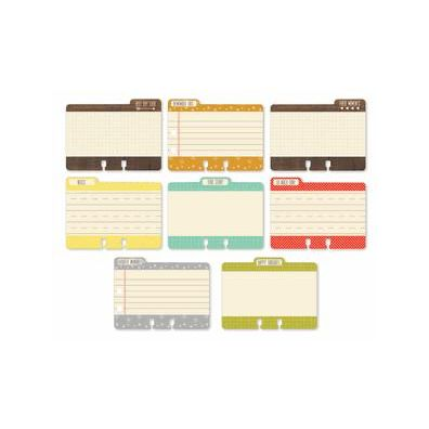 School House File Cards - Chic Tags