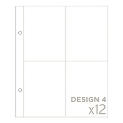 Project Life 6x8 Pocket Pages Design 4