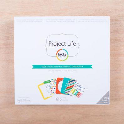 Project Life Core Kit - Aqua