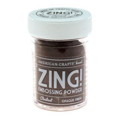 Zing Embossing pulver Chestnut