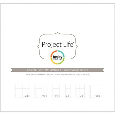 Project Life Fotolommer - Big Pack - Pack 3