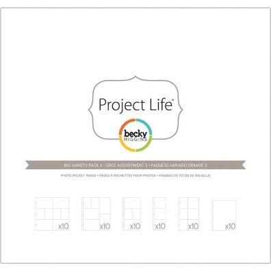 Project Life Fotolommer - Big Pack - Pack 3