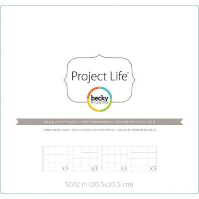 Project Life Fotolommer - Small Variety Pack 5