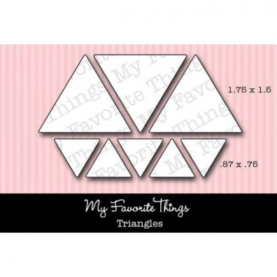 My Favourite Things Dies Triangles