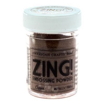Zing Embossing pulver Metallic Copper