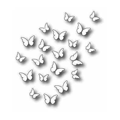 Memory Box Dies Peaceful Butterfly Wings
