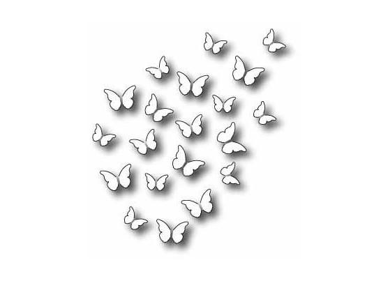 Memory Box Dies Peaceful Butterfly Wings