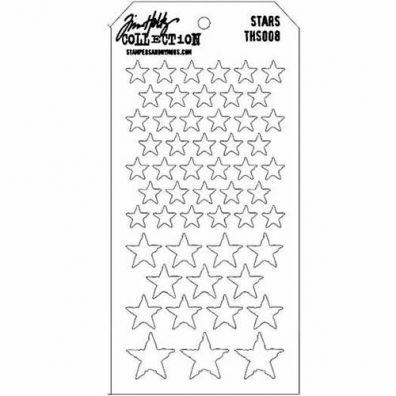 Tim Holtz Stencil/ Mask - Stars