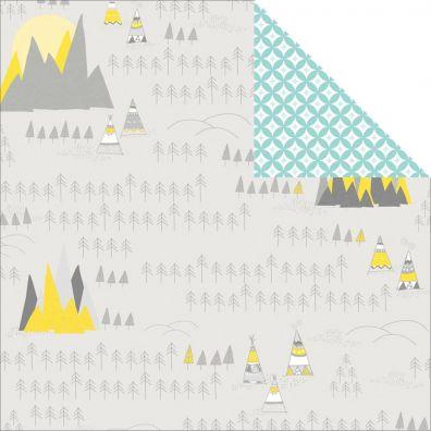 Wanderlust - Roads Less Travelled Mønsterpapir fra Studio Calico