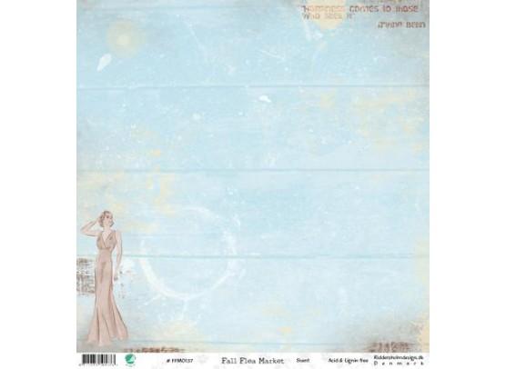 Fall Flea Market - Scent Mønsterpapir fra Riddersholm De