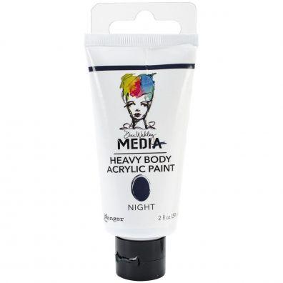 Dina Wakley Heavy Body Acrylic Paint - Night