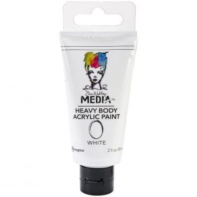 Dina Wakley Heavy Body Acrylic Paint - White