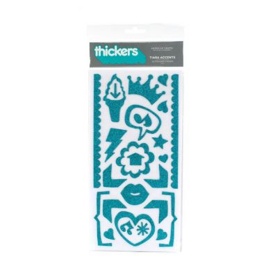 Thickers Tiara Accent Aqua