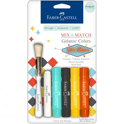 Faber Castell Mix & Match gelatos 50s Diner