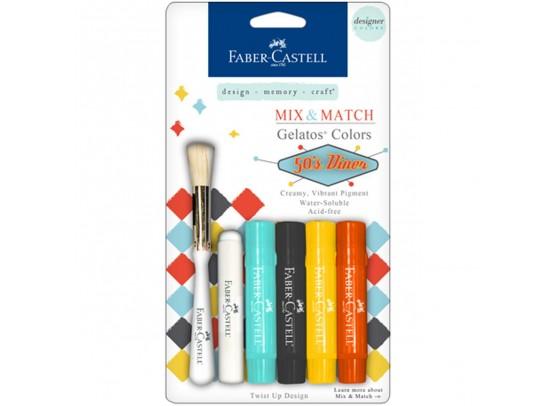 Faber Castell Mix & Match gelatos 50s Diner