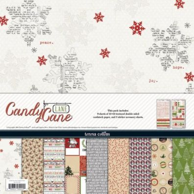 Teresa Collins Candy Cane Lane - Collection Kit