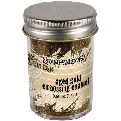 Stampendous Aged Gold embossing enamel