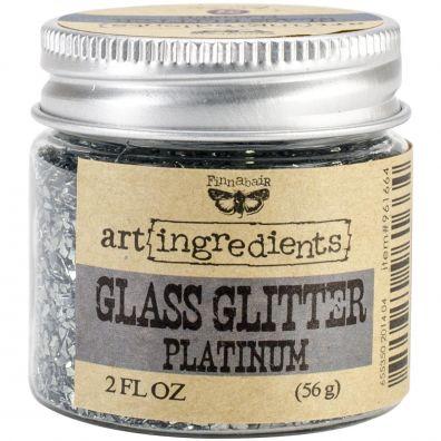 Prima Glass Glitter Platinum