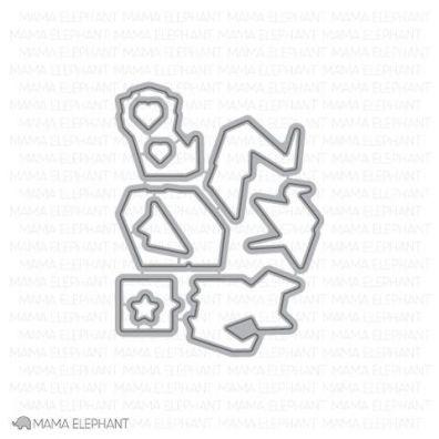Mama Elephant Creative Cuts - Origami