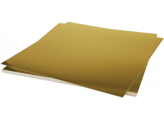 "Blankt Guld karton 12x12"""