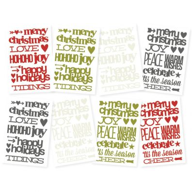 Simple Stories DIY Christmas DIY Stickers