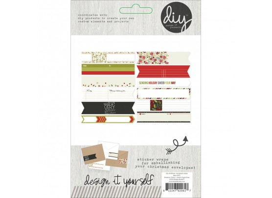 Simple Stories DIY Christmas DIY Envelope Wraps