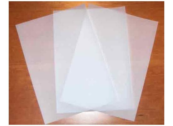Vellum hvidt A4 - 10 ark