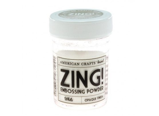 Zing Embossing pulver White