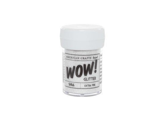 Wow Glitter - Extra Fine White